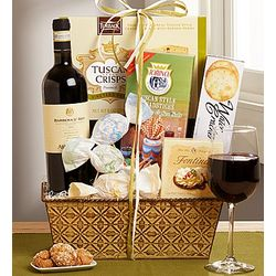 Spring in Italy Wine Gift Basket