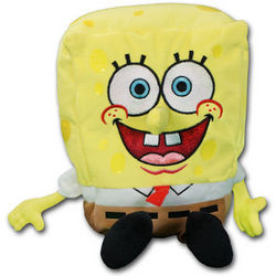 "Spongebob Square Pants 12"" Beanie Baby Toy"