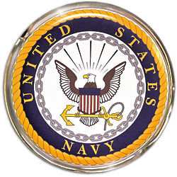 United States Navy Official Seal Wall Hanging
