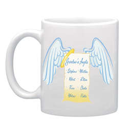 Personalized 11 oz. Angels Mug