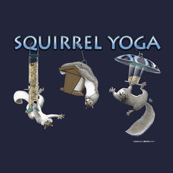 Squirrel Yoga T-Shirt