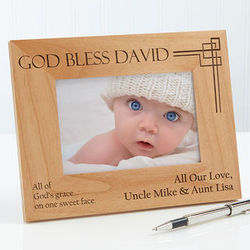 Personalized Godchild Picture Frames
