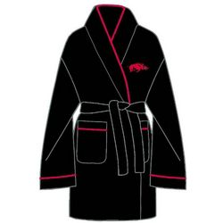 Ladies University of Arkansas Solid Cozy Robe