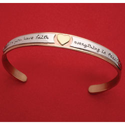 Everything Is Possible Cuff Bracelet