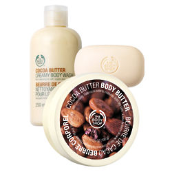 Cocoa Butter Bath and Shower Set