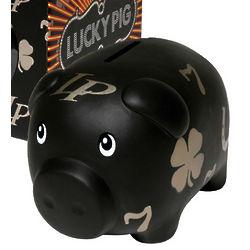 Posh Pig Lucky Piggy Bank