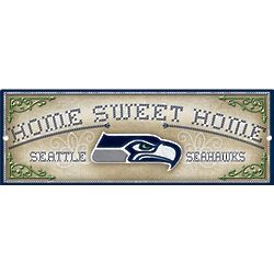Home Sweet Home Seattle Seahawks Wood Sign