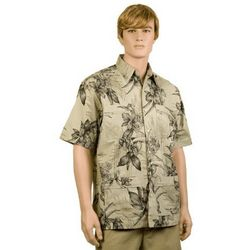 Butter Hibiscus Hawaiiabera Shirt