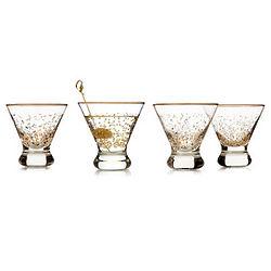Shaken or Stirred Martini Glass
