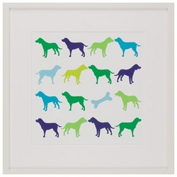 Animal Sudoku Dogs Wall Art