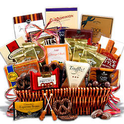 Coffee and Chocolates Premium Gift Basket