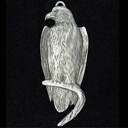 Eagle Pewter Ornament