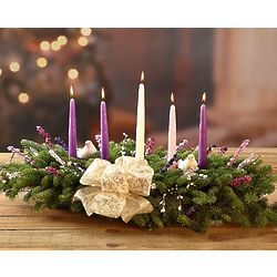 Christmas Grace Advent 5 Candle Centerpiece