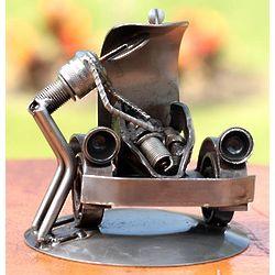 Rustic Car Mechanic Auto Parts Sculpture