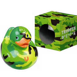 Camouflage Rubber Ducky