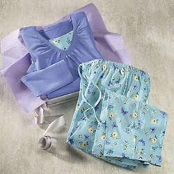 Women's Butterfly Meadow Pajamas