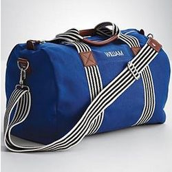 Kid's Blue Weekender Bag