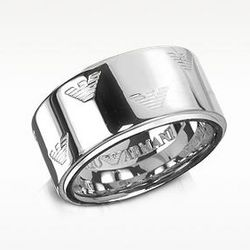 Signature Sterling Silver Unisex Ring