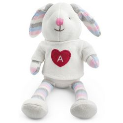 Personalized Knit Bunny Stuffed Animal