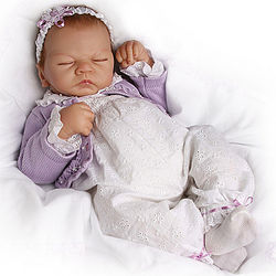 Sweet Dreams Lifelike Breathing Emily Doll