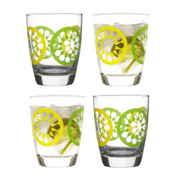 Juicy Citrus Drink Glasses