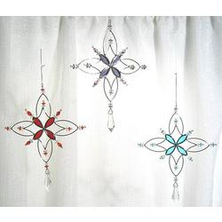 Snowflake Star Suncatcher or Tree Ornament