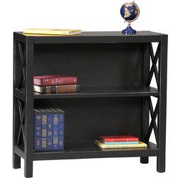 Lattice Collection 3-Shelf Bookcase