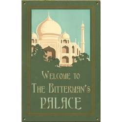 Personalized Vintage Palace Sign