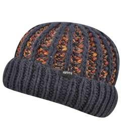 Multicolored Cuff Pull on Hat