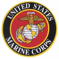 USMC Car Magnet
