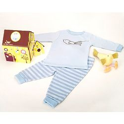 Newborn Boy's PJ Birdhouse Gift Set