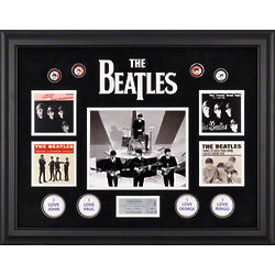 The Beatles on Ed Sullivan Framed Wall Art
