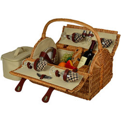 Yorkshire Picnic Basket for 4