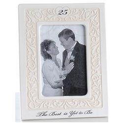 25th Anniversary Photo Frame