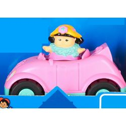 Little People Pink Convertible Car