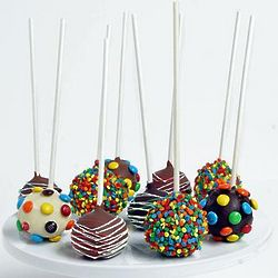 10 Birthday Cake Pops