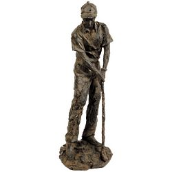 Young Tom Morris Golf Sculpture