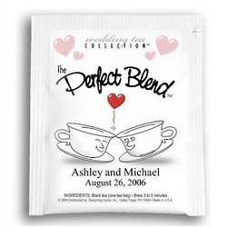 The Perfect Blend Tea Wedding Favors