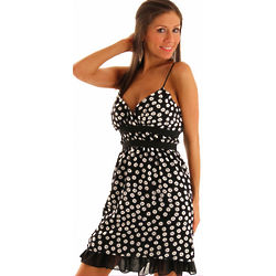 Ruffled Polka Dot Party Dress