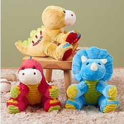 Personalized Dinosaur Plush