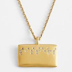 Braille Sisters Necklace