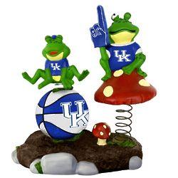 Kentucky Wildcats Springy Frog Garden Figurine