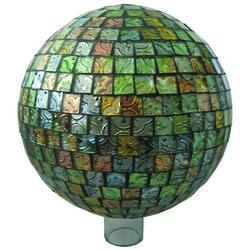 Mosaic Square Tile Gazing Globe