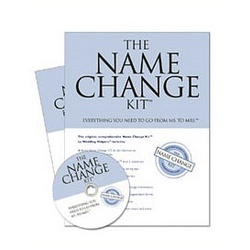 Bride Name Change Kit