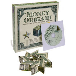 Money Origami Book and DVD Set