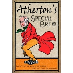 Personalized Special Brew Sign
