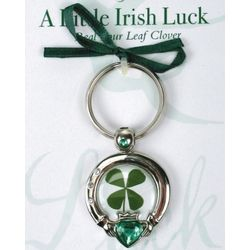 Claddagh Little Irish Luck Keyring