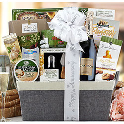 Domaine Chandon Anniversary Collection Gift Basket