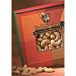 Buddy Squirrel Jumbo Cashew Nuts Gift Box