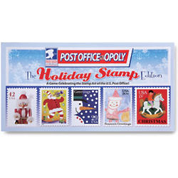 Post Office-Opoly Holiday Stamps Edition